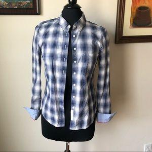 LOGG H&M Plaid Button down Shirt